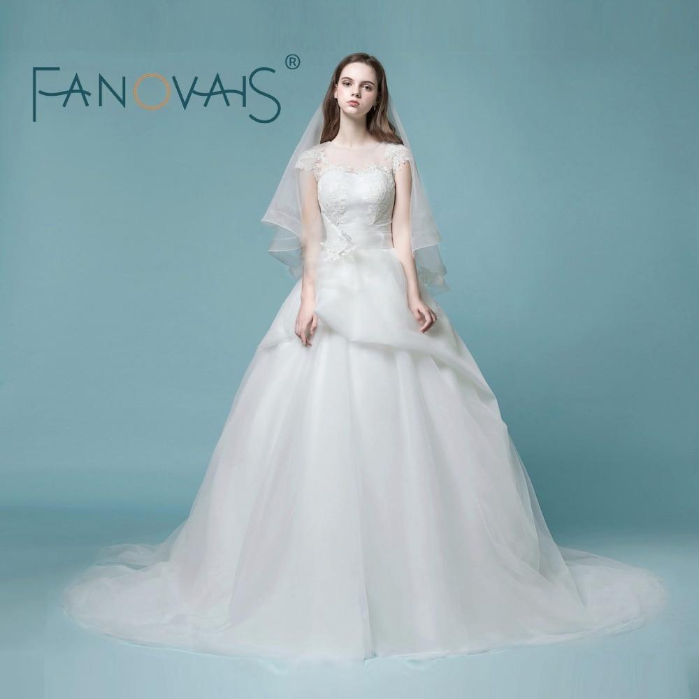 Jeanne Love New Fashion Wedding Dresses 2018 High Quality Bridal ...