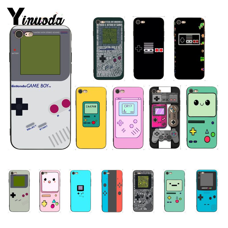 Yinuoda Gameboy Game Boy Gb Luxury Unique Design <font><b>PhoneCase</b></font> for <font><b>iPhone</b></font> 6S 6plus 7 <font><b>7plus</b></font> 8 8Plus X Xs MAX 5 5S XR image
