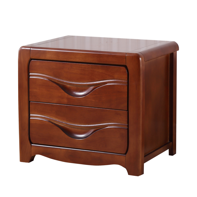 Bedside minimalist modern Chinese mini oak storage side cabinet with lock mds89664h steel bedside commode