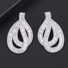 SISCATHY Luxury Goegeous Statement Stud Earrings Charms Women original mujer moda Charm Jewelry boucle doreille femme