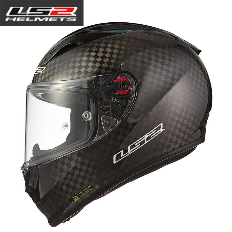 100% Genuine LS2 FF323 latest carbon fiber top racing full face motorcycle helmet sports car moto helmets capacetes motociclismo free shipping genuine sports car limited edition motorcycle helmet full helmet ls2 motorcycle oem red and white illusion
