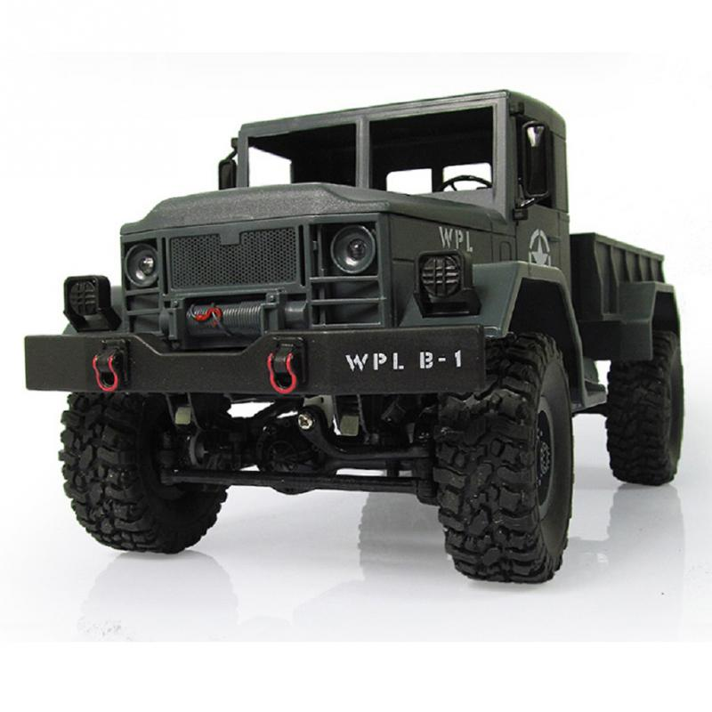 New 4WD Military RC Truck 2.4G WPLB-14 Off Road Vehicle Remote Simulation Of Military Vehicle Climbing car Toy for Children