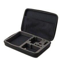 Grande Saco Para GoPro Acessórios Grande EVA Coleta Box Case Para Ir pro Herói 5 4 3 EKEN H9 Xiaomi Yi SJCAM SJ4000 Ação câmera