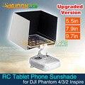 Fotografia aérea 5.5in 7.9in 9.7in tablet sombrinha sombrinha sun capa de smartphones para dji inspire fantasma 4/pro/3/2