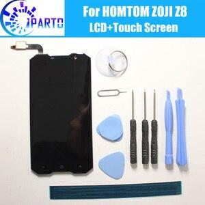 Image 1 - HOMTOM ZOJI Z8 Display LCD + Touch Screen Originale Al 100% Testato LCD Digitizer Vetro del Pannello di Ricambio Per HOMTOM ZOJI Z8