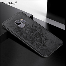 For Samsung Galaxy S9 Cover Case G960 3D Luxury Cloth Fabric Phone