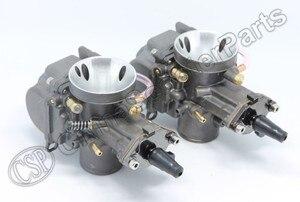 Image 5 - PWK PWK34 Carburetor 34 34MM Dual Set For Yamaha XS650 Keihin Carb