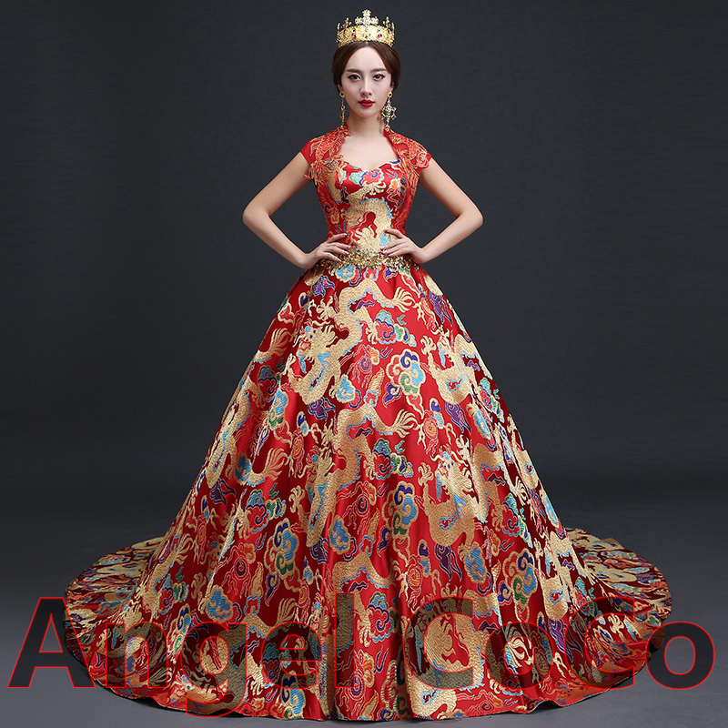 Real Luxurious High End Customized Royal Brocade Silk Robe