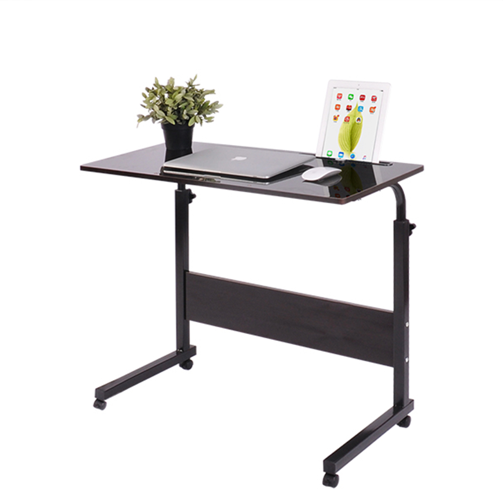 2018  Foldable Computer Table Adjustable Portable Laptop Desk 80*40CM Rotate Laptop Bed Table Can Be Lifted Standing Desk