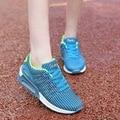 Горячие Продажи Новая Мода Квартиры Женщины Тренеры Дышащий Спорт Женщина Обувь Повседневная Открытый Прогулки Женщины Квартиры Zapatillas Mujer