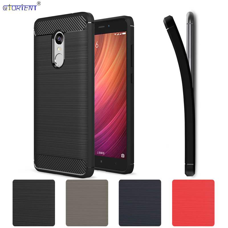 Silicone Case for <font><b>Xiaomi</b></font> <font><b>Redmi</b></font> <font><b>Note</b></font> <font><b>4X</b></font> <font><b>3/32</b></font> X4 Carbon Fiber Brushed Phone Cover for Xiomi <font><b>Redmi</b></font> <font><b>Note</b></font> 4 Note4 Global Version Case image