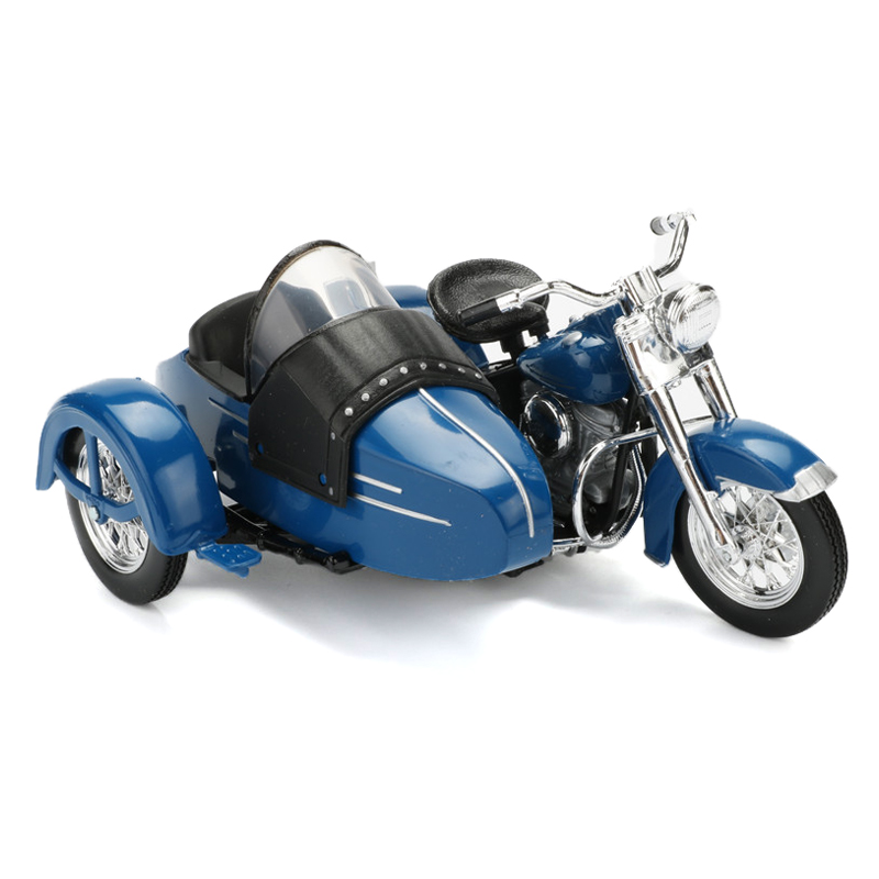 Maisto 1:18 Harley Motorcycle Toy Alloy Mini Motorbike Metal Motor Car Toy 1952 FL Hydra Glide Motor Model Kids Toys Brinquedos