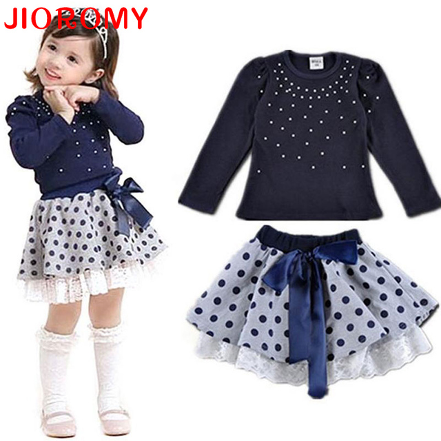 JIOROMY 2017 Summer Korean Baby Girls Clothing Set Children Heart Shirt+bow Shorts Suit 2pcs Kids Floral Bow Clothes Set Suit k1