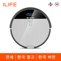 ILIFE V8s Robotic Vacuum Cleaner Cordless Cleaner Vacumming & Wet Mop Navigation Smart Planned Cleaning Automatic Recharging
