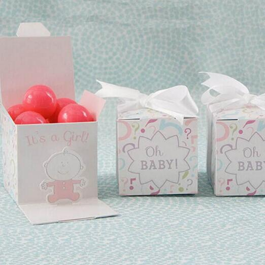 100 X It s a Boy Girl Oh BABY Baby Shower Candy Boxes Bomboniera Baby Baptism