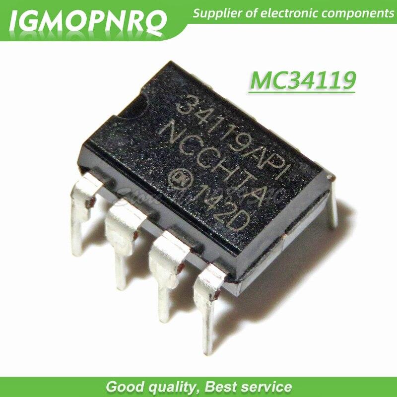 10pcs MC34119 DIP MC34119P DIP8 MC34119API DIP-8