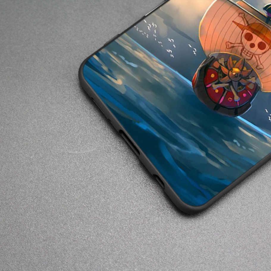MỘT BỘ Anime Luffy Zoro Ốp Lưng Silicon Dành Cho Samsung Galaxy Samsung Galaxy A70 A50 M30 S10 Plus S10E M20 M10 A40 A30 a20 A10 A20E Bao Coque