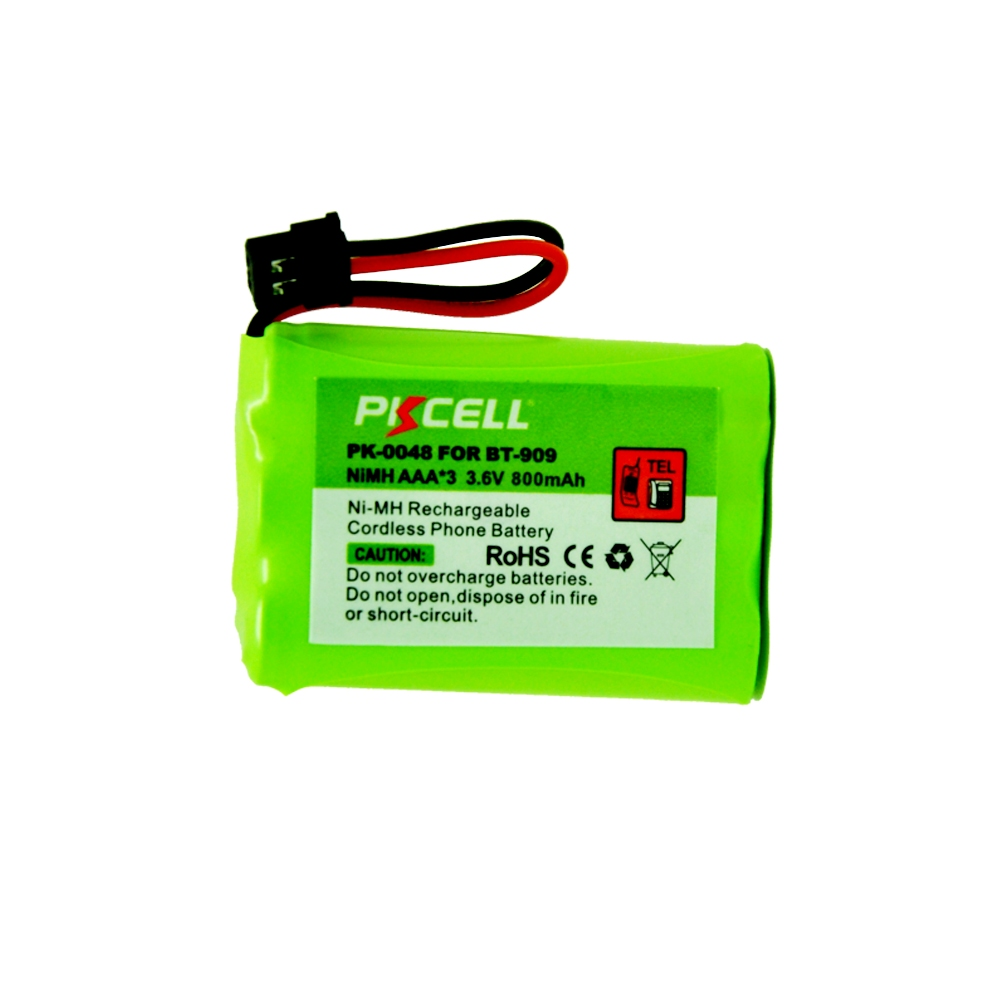 1pcs Pkcell New Cordless Phone Battery 36v Aaa3 800mah For Uniden Energizer E92 Aaa Bp 4 Bt 909 Bt909 Pk 0048 In Rechargeable Batteries From Consumer Electronics On