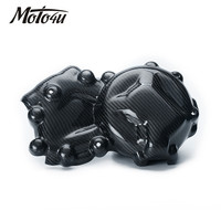 For BMW S1000RR Motorcycle 100% Carbon Fiber Alternator Cover Protector Twill weave S 1000RR