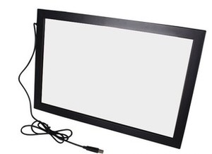 """Image 3 - Fast Shipping! 55"""" 10 points multi Infrared IR touch screen panel frame overlay kit, driver free, plug and play"""
