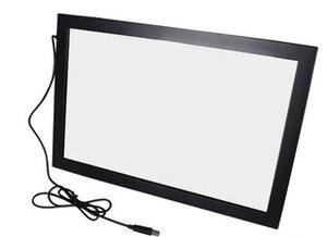 """Image 3 - Schnelles Verschiffen! 55 """"10 punkte multi Infrarot IR touch screen panel rahmen overlay kit, fahrer freies, stecker und spielen"""