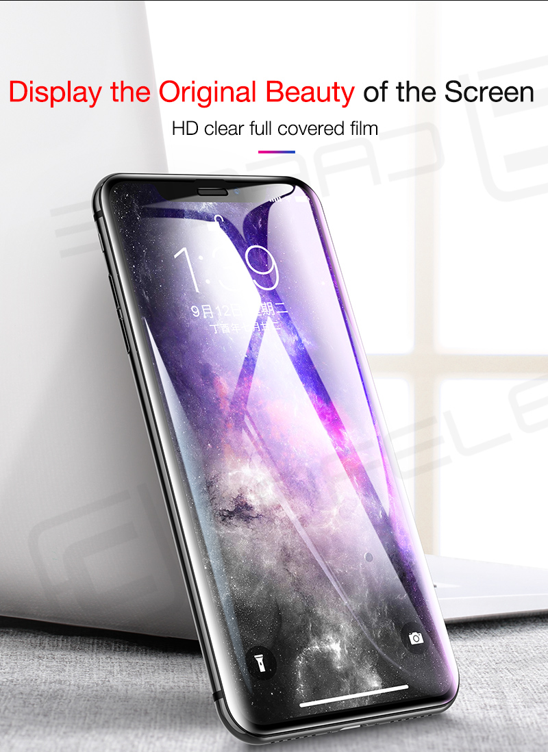 1 Tempered Glass for iphone X XS 9 2018 (2)