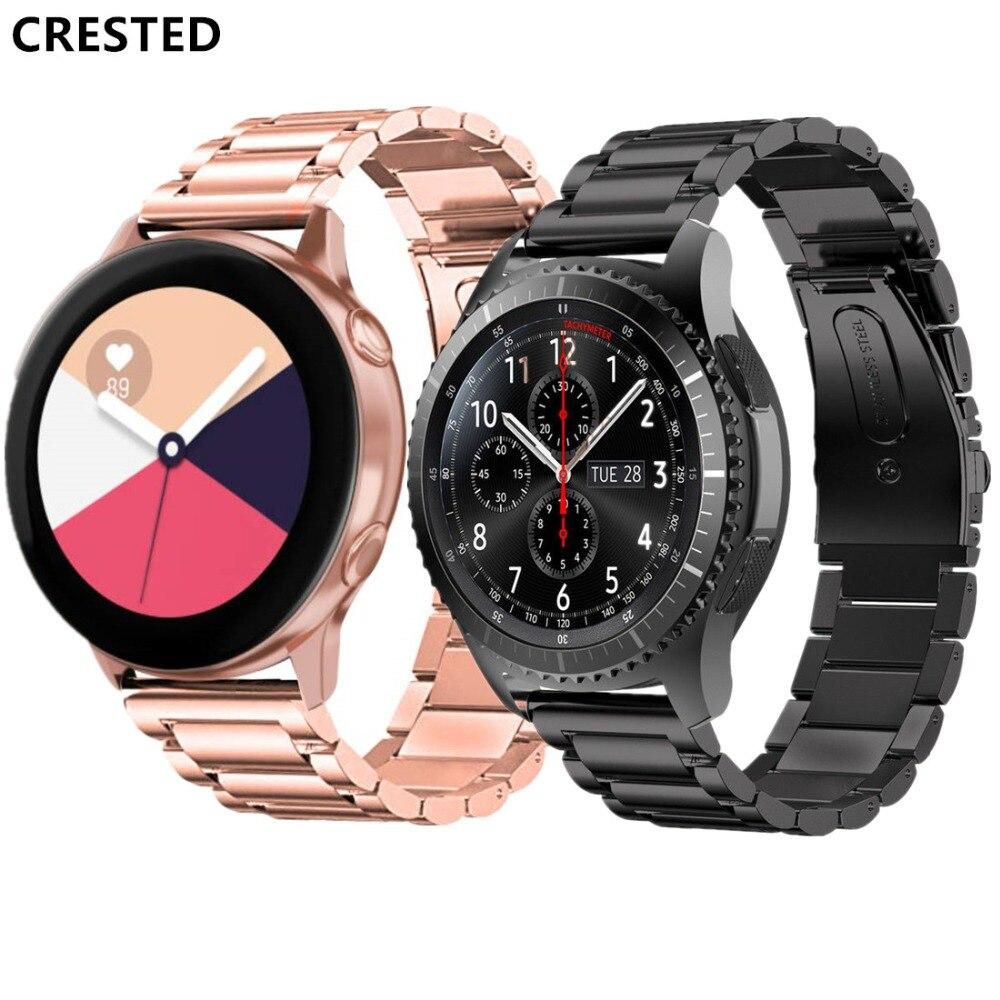 Gear S3 Frontier strap For Samsung Galaxy watch active Galaxy Watch 46mm  huawei watch gt strap 22mm