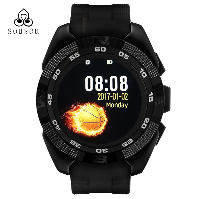 Men Smart phone watch Heart Rate Step counter Stopwatch Ultra thin Bluetooth Wearable Devices Sport For IOS Android X4 curren smart phone watch men watch heart rate step counter stopwatch ultra thin bluetooth wearable devices sport for ios android