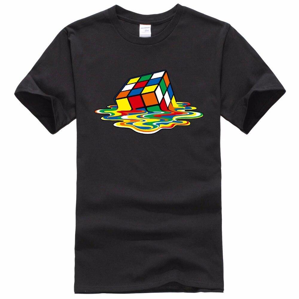 Neue Design The Big Bang theory T-shirt Männer Magie Platz T Shirts kurzarm Sheldon Cooper Männer T-shirts Baumwolle Männer Kleidung