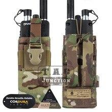 حقيبة راديو تكتيكية ايمرسون MBITR PRC148 152 مع حزام ممول EM8336 حقيبة راديو امرسونجير مولي ل JPC ، AVS. CPC صدرية