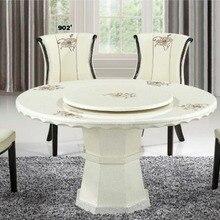 Популярный современный круглый мраморный обеденный стол
