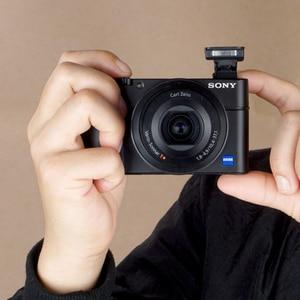 Image 4 - Non slip Attachment Grip Holder for Sony RX100 RX100II RX100III M4 M5 RX100M6 Rubbery Grip 3M Sticker Bag Camera Accessories