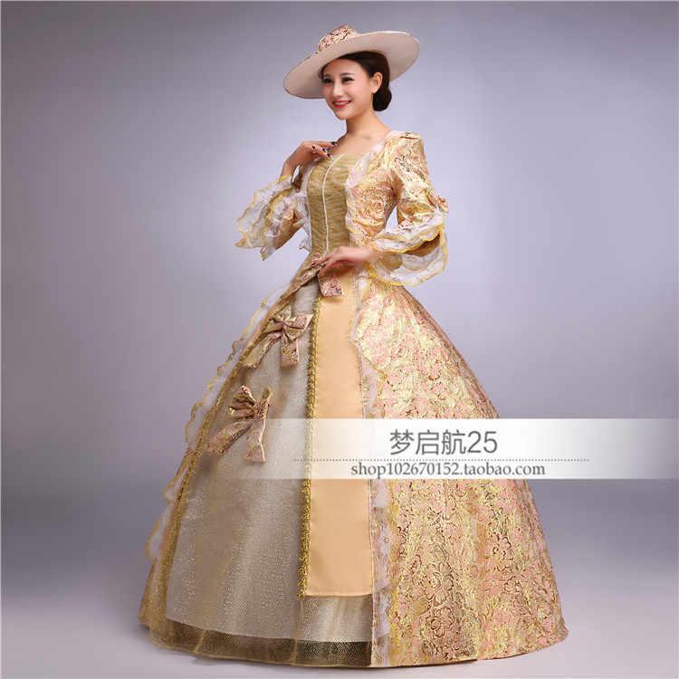b6ba7b57d6f6 ... European Ladies Medieval Renaissance Period Formal Dress Halloween Party  Ball Gown Cosplay Costume for Women Lolita ...
