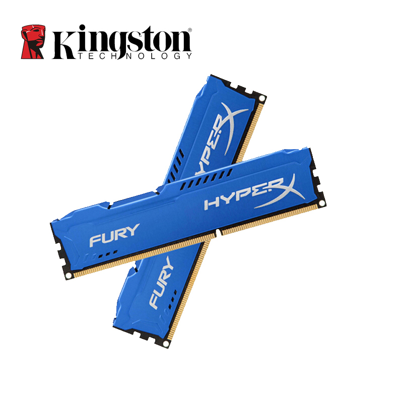 Kingston HyperX Fury DDR3 4GB 8GB Memoria RAM 1866MHz DDR 3 DIMM Intel Gaming Memory For Desktop PC Lifetime Warranty 4 GB 8 GB
