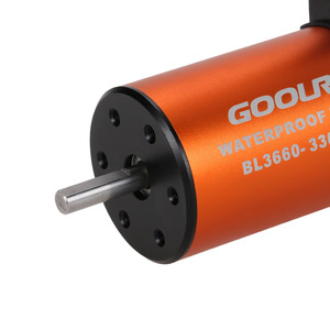 Image 5 - GoolRC Upgrade Waterproof 3660 3300KV Brushless Motor with 60A ESC Combo Set for 1/10 RC Car Truck