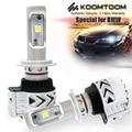 KOOMTOOM Specail for BMW H7 Headlight 1S 3S 5SLo 6SHi M3Lo X1Lo X3Hi  6500K Cool White Light 12000LM H7 headlight for BMW