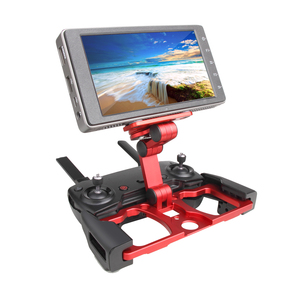 Image 5 - For IPad Tablet & CrystalSky Remote Control Tablet Clip Aluminium Holder for DJI MAVIC PRO/ AIR/ SPARK monitors Accessories