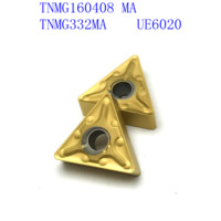 us735 כלי קרביד כלי כלי 20PCS קרביד TNMG160408 / TNMG332 MA VP15TF / UE6020 / US735 CNC מחרטה כלי 60 (2)