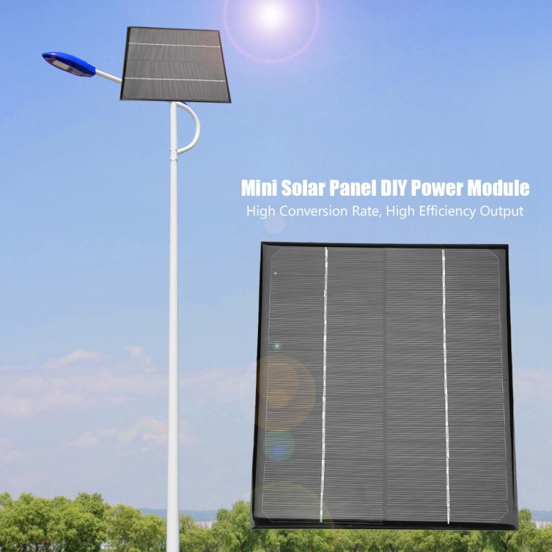 1PC 6W Solar Panel 18V Mini Portable Monocrystalline Silicon Solar Panel DIY Power Module Charger 200*170mm Battery Solar Panel