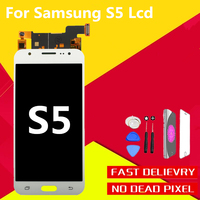3PcsAAA Display Screen Tested High Quality For Samsung Galaxy S5 LCD G900 G900F G900H Touch Digitizer