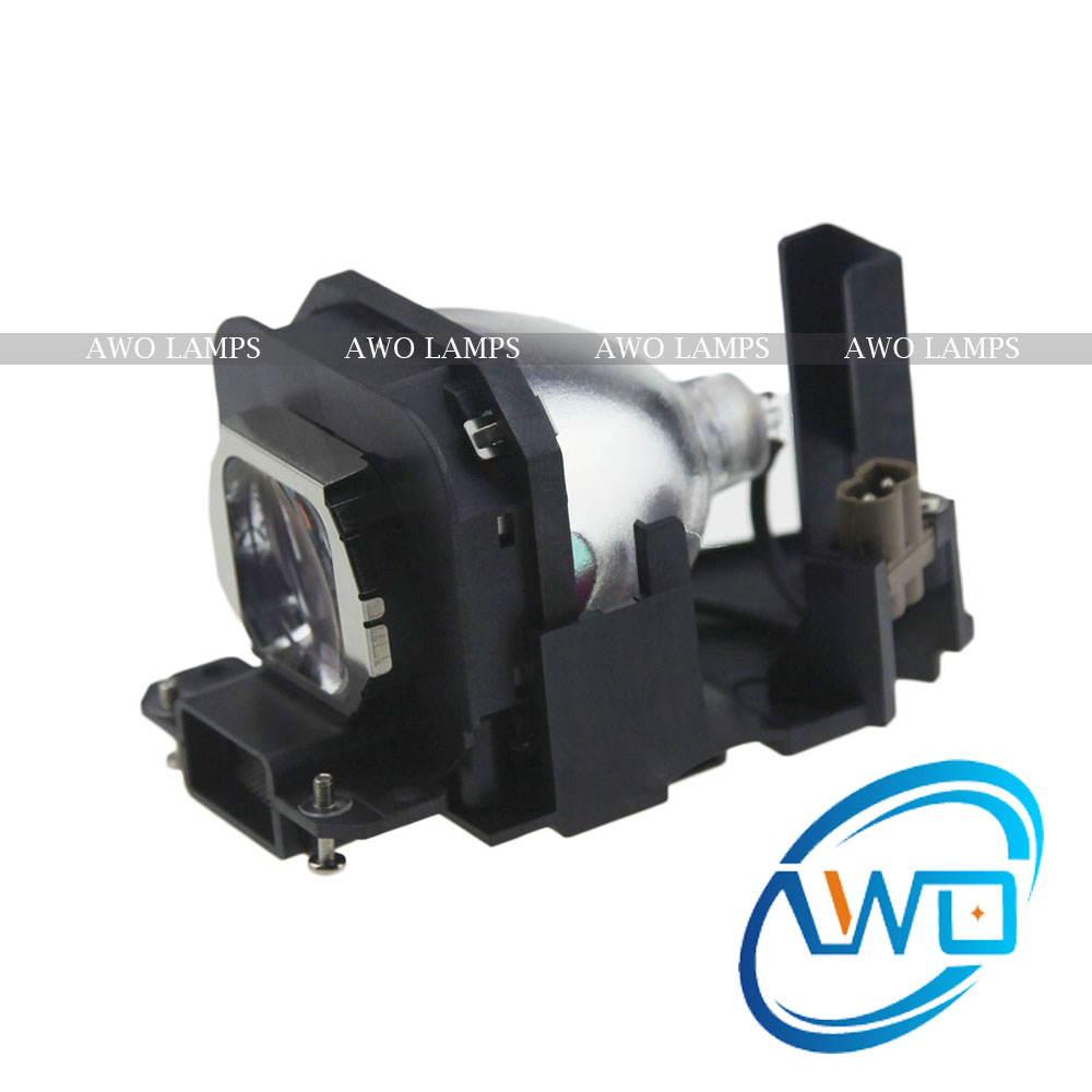 AWO Compatible Projector Lamp ET-LAX100 with housing for PANASONIC PT-AX100E/AX200E PT-AX200 PT-AX200U/PT-AX100U/PT-AX200U et lax100 projector lamp compatible bulb with housing for panasonic pt ax100 ax100e pt ax100u pt ax200 ax200e pt ax20