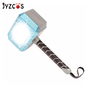 JYZCOS Thor Hammer Weapon Model Halloween Costumes for Kids Party Carnival Costume Avengers Cosplay Props Toys Christmas Gifts