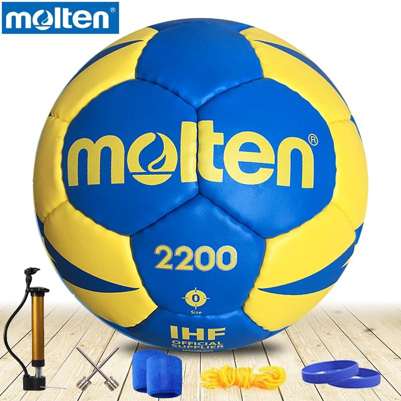 Оригинальный литой гандбол H3X2200 новый бренд высокое качество подлинный литой ПУ материал Официальный Размер 3 гандбол для мужских трениров...