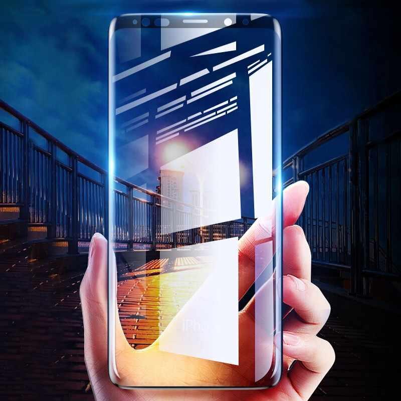 3 قطعة/الوحدة كامل غطاء الزجاج المقسى فيلم ل سامسونج A50 A30 A70 A10 A20 A40 A60 A80 A90 M40 M30 M20 M10 شاشة حامي HD