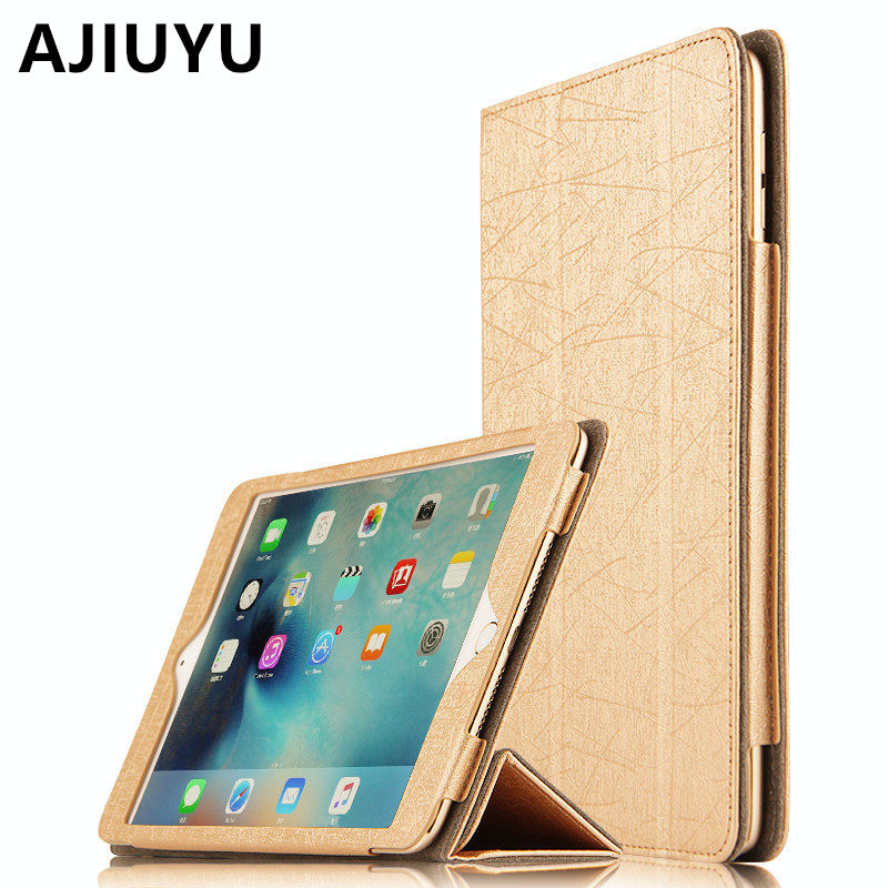 AJIUYU Case For Apple iPad mini 4 Smart Cover Protective Leather Protector For iPad mini4 Tablet 7.9 inch PU Cases A1538 A1550