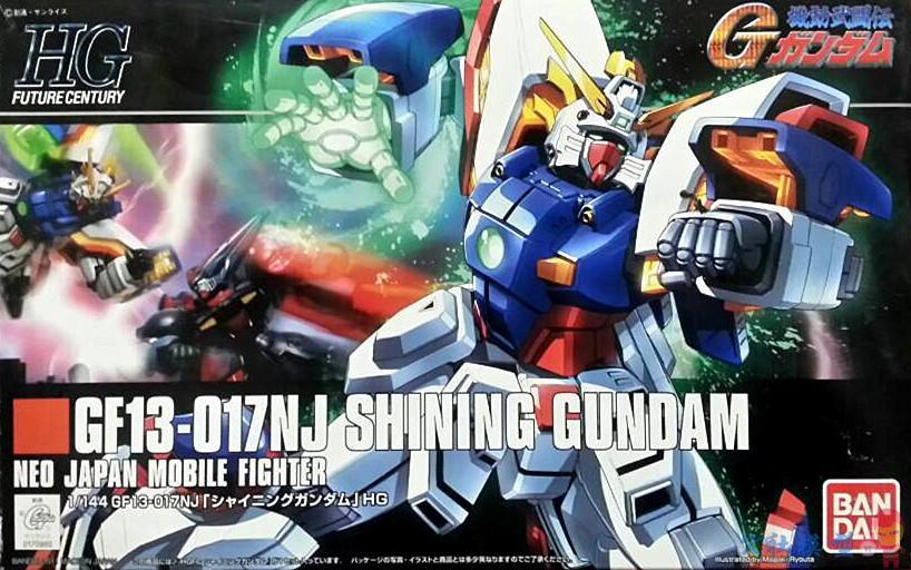 1PCS Bandai HGUC 1/144 HGFC 127 GF13-017NJ Shining Gundam Mobile Suit Assembly Model Kits Anime action figure Gunpla ohs bandai mg 179 1 100 sengoku astray gundam mobile suit assembly model kits