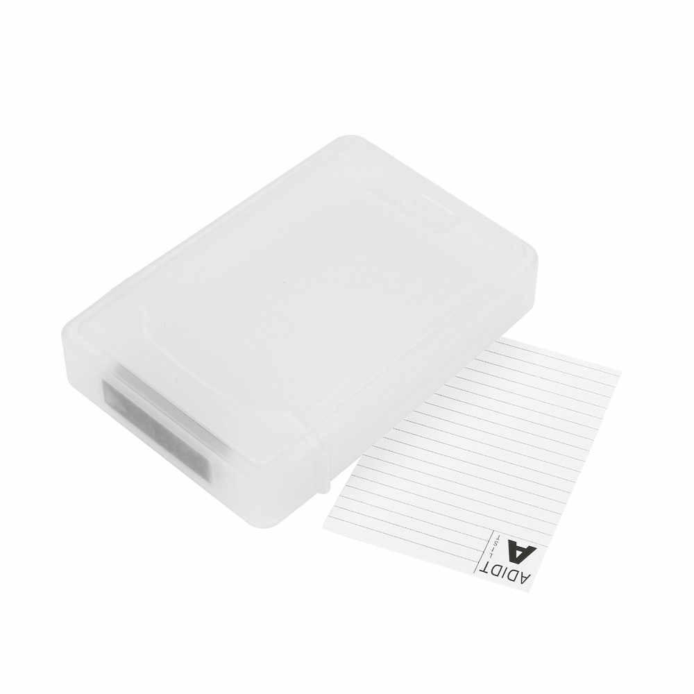 طابعة للبطاقات اللاصقة مربع أداة-شحن USB 3.0 SATA III قرص صلب مرفقات حالة غطاء ل 2.5 بوصة HDD SSD دروبشيب jh0418