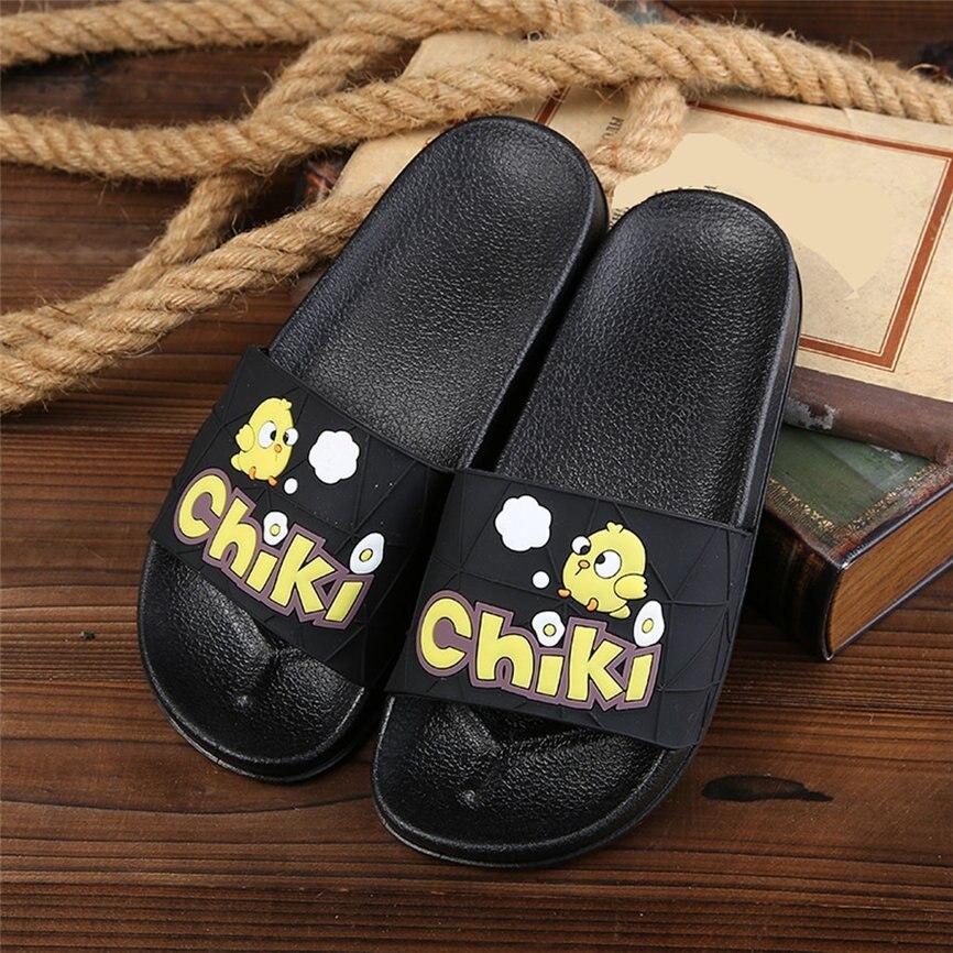 SAGACE Women Sandal Summer 2019 Women Indoor And Outdoor Slippers Soft Bottom Cartoon Chicken Sandals Shoes For Women #30