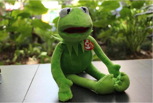 Hot Sale 40cm Kermit Brinquedos de Pelúcia Sesame Rua Boneca Stuffed Animal Boneca de Brinquedo de Pelúcia Sapo Kermit