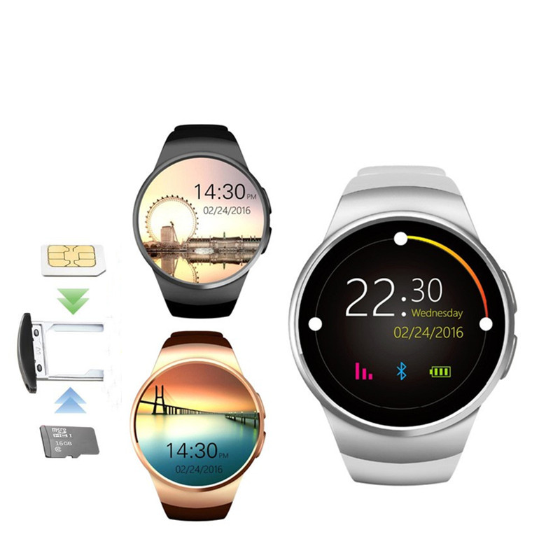 Original KW18 Bluetooth Smart Watch Full Screen Support 2G SIM TF Card video recording Heart Rate Monitor For Andriod&ios PhoneOriginal KW18 Bluetooth Smart Watch Full Screen Support 2G SIM TF Card video recording Heart Rate Monitor For Andriod&ios Phone
